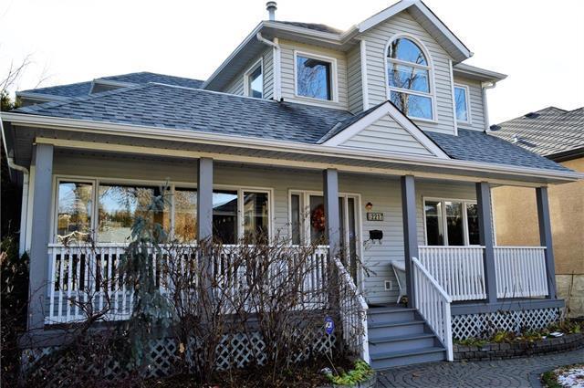 2217 6 Avenue NW, Calgary, AB T2N 0X1 (#C4199456) :: Your Calgary Real Estate