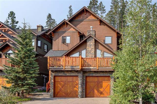 139 Hubman Landing, Canmore, AB T1W 3L3 (#C4200848) :: Canmore & Banff