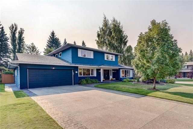 6730 Larch Court SW, Calgary, AB T3E 6E8 (#C4200875) :: Your Calgary Real Estate