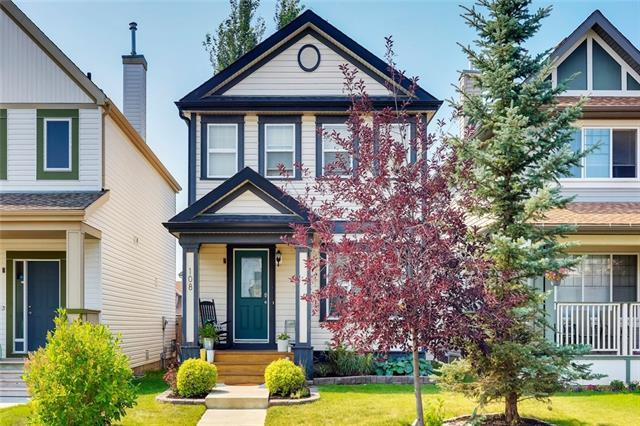 108 Copperstone Circle SE, Calgary, AB T2Z 0G6 (#C4200950) :: Canmore & Banff
