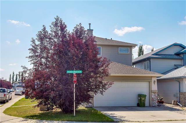 87 Silver Creek Boulevard NW, Airdrie, AB T4B 2P7 (#C4201105) :: Canmore & Banff