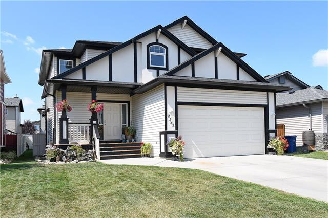 2183 Luxstone Boulevard SW, Airdrie, AB T4B 3B9 (#C4201226) :: Your Calgary Real Estate