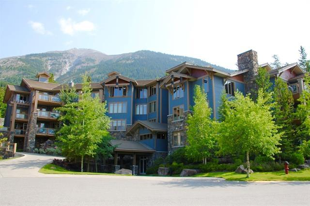 140 Stone Creek Road #302, Canmore, AB T1W 3J3 (#C4201229) :: Redline Real Estate Group Inc