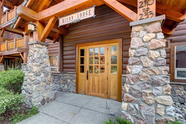 104 Armstrong Place #224, Canmore, AB T1W 3L5 (#C4201233) :: Canmore & Banff