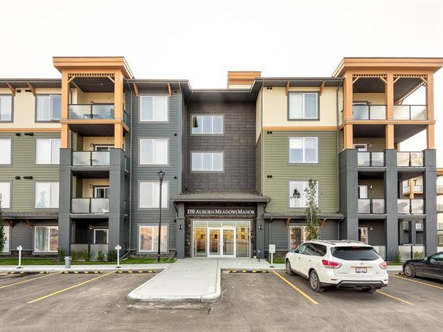 150 Auburn Meadows Manor SE #302, Calgary, AB T3M 2S6 (#C4201298) :: Canmore & Banff