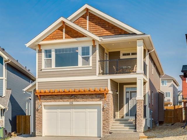126 Heritage View, Cochrane, AB T4C 0G5 (#C4201401) :: Canmore & Banff