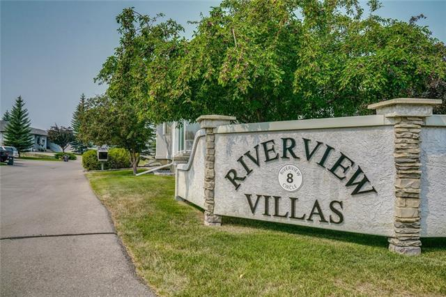 8 Riverview Circle #20, Cochrane, AB T4C 1X1 (#C4201454) :: Calgary Homefinders