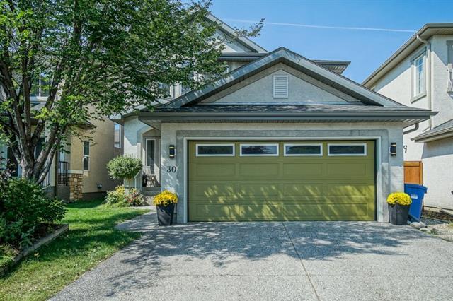 30 Cranleigh Manor SE, Calgary, AB T3M 1G6 (#C4201570) :: Canmore & Banff