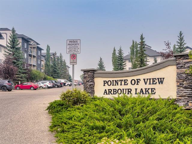 55 Arbour Grove Close NW #406, Calgary, AB T3G 4K3 (#C4201743) :: The Cliff Stevenson Group