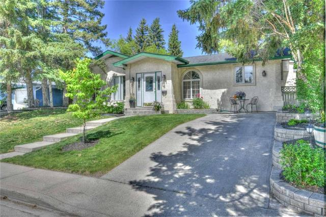 6 Roseview Drive NW, Calgary, AB T2K 1N7 (#C4201794) :: Your Calgary Real Estate