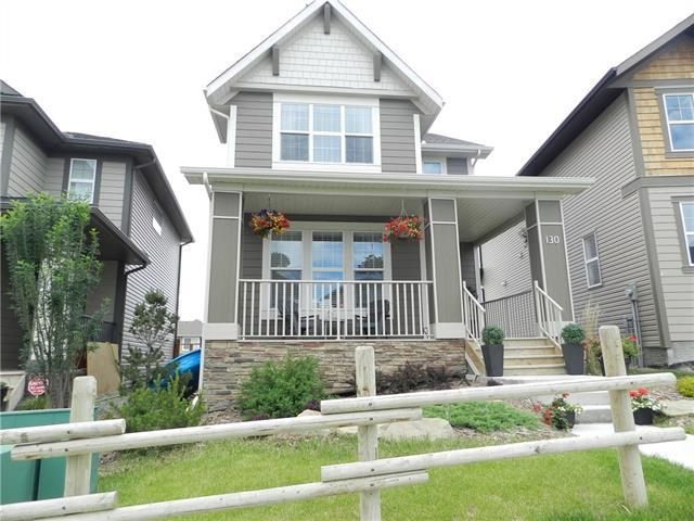 130 Heritage Drive, Cochrane, AB T4C 0Y3 (#C4201811) :: Canmore & Banff