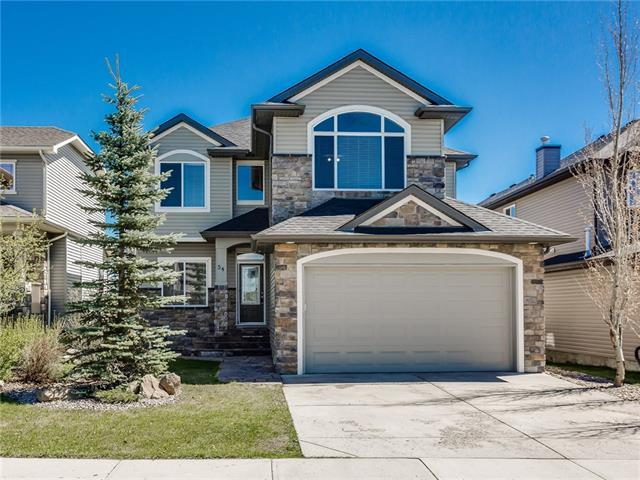 54 Crystal Green Way, Okotoks, AB T1S 2K6 (#C4201825) :: Canmore & Banff