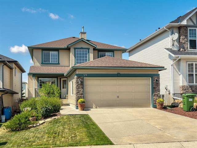 59 Tuscany Springs Boulevard NW, Calgary, AB T3L 2E9 (#C4201893) :: Canmore & Banff