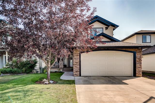 56 Bow Ridge Drive, Cochrane, AB T4C 1V5 (#C4201963) :: Redline Real Estate Group Inc