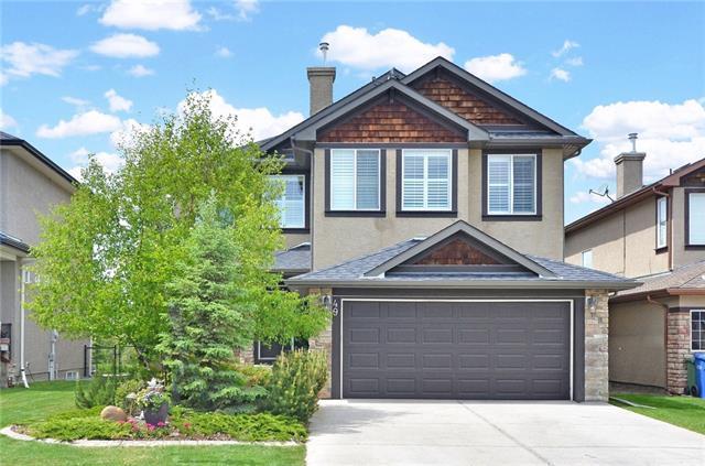 49 Billy Haynes Trail, Okotoks, AB T1S 2N9 (#C4202652) :: Redline Real Estate Group Inc
