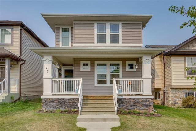 197 Morningside Gardens SW, Airdrie, AB T4B 0K3 (#C4203125) :: Canmore & Banff