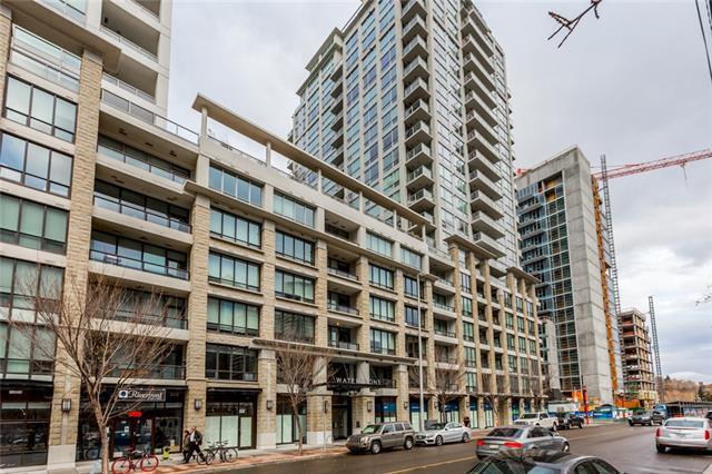222 Riverfront Avenue SW #212, Calgary, AB T2P 0W3 (#C4203181) :: The Cliff Stevenson Group