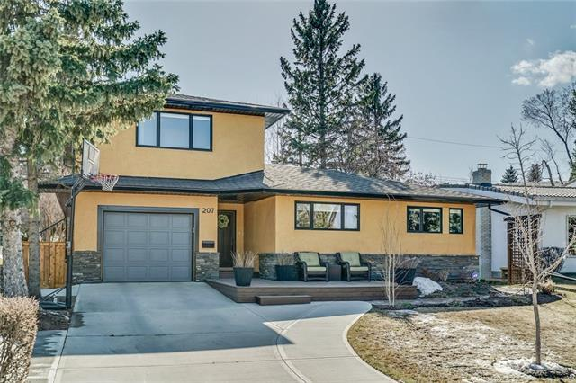 207 Wildwood Drive SW, Calgary, AB T3C 3E2 (#C4203351) :: Redline Real Estate Group Inc