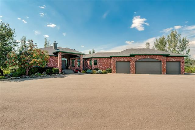 7 Horizon View Lane, Rural Rocky View County, AB T3Z 3M4 (#C4203428) :: Redline Real Estate Group Inc