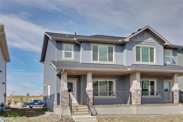 54 Willow Mews, Cochrane, AB T4C 2N3 (#C4203582) :: Redline Real Estate Group Inc