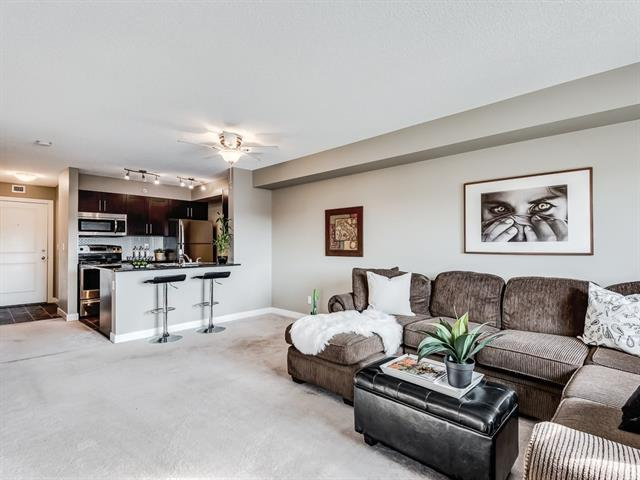 403 Mackenzie Way SW #8410, Airdrie, AB T4B 0V7 (#C4203712) :: Canmore & Banff