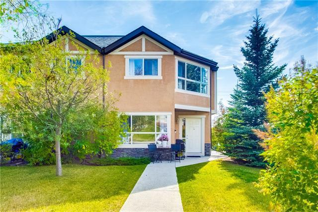 55 Collingwood Place NW #1, Calgary, AB T3K 1B3 (#C4204261) :: Canmore & Banff