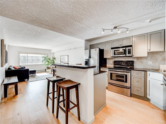728 3 Avenue NW #407, Calgary, AB T2N 0J1 (#C4204458) :: The Cliff Stevenson Group