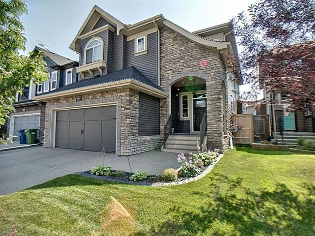 203 Cooperstown Lane SW, Airdrie, AB T4B 2L2 (#C4204537) :: Redline Real Estate Group Inc