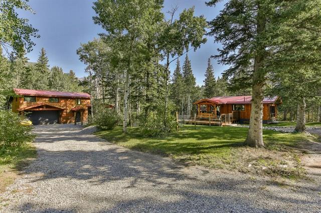 9 Heart Road, Lac des Arcs, AB T1W 2W3 (#C4204643) :: Canmore & Banff