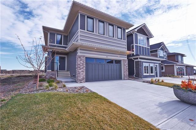 16 Emberside Glen, Cochrane, AB T4C 2L6 (#C4204719) :: Redline Real Estate Group Inc