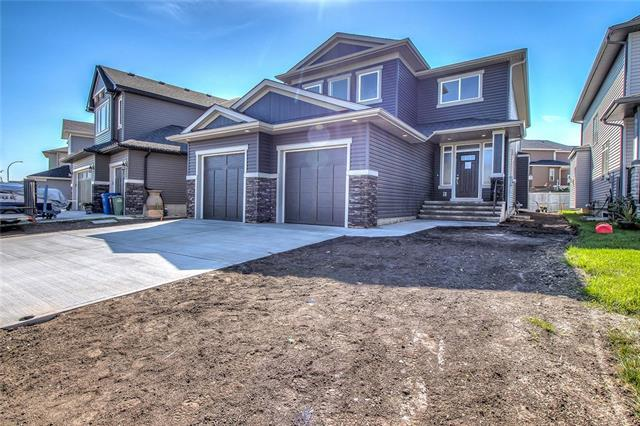 56 Cimarron Springs Circle, Okotoks, AB T1S 0M2 (#C4204878) :: Redline Real Estate Group Inc