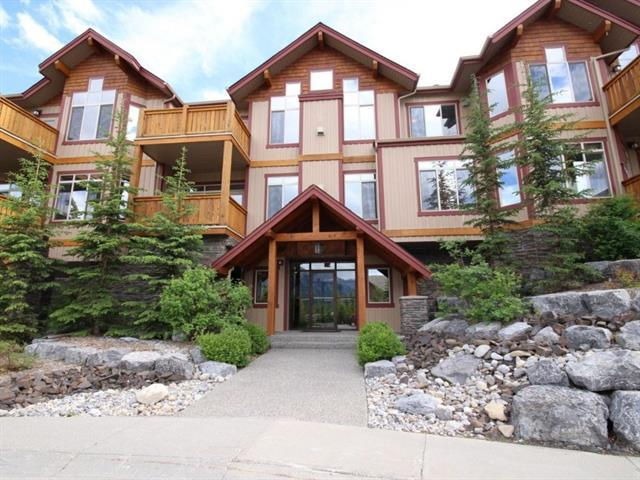803 Wilson Way #203, Canmore, AB T1W 0E8 (#C4204952) :: Redline Real Estate Group Inc