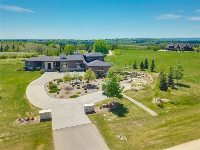 10 Swift Creek Place, Rural Rocky View County, AB T3Z 0B6 (#C4205266) :: Redline Real Estate Group Inc