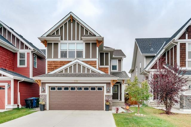 208 Auburn Springs Boulevard SE, Calgary, AB T3M 1T9 (#C4205331) :: The Cliff Stevenson Group