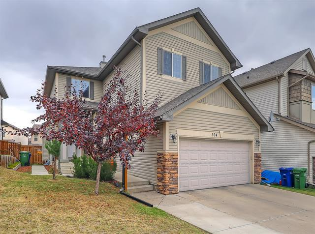 304 Morningside Crescent SW, Airdrie, AB T4B 3M4 (#C4205361) :: Canmore & Banff
