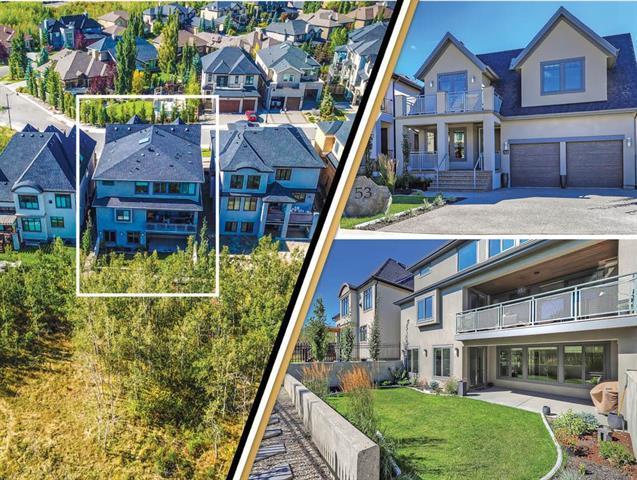 53 Aspen Ridge Green SW, Calgary, AB T3H 0Z8 (#C4205449) :: Canmore & Banff