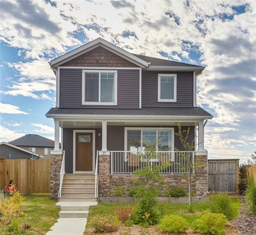 37 Fireside Cove, Cochrane, AB T4C 0X3 (#C4205578) :: Redline Real Estate Group Inc