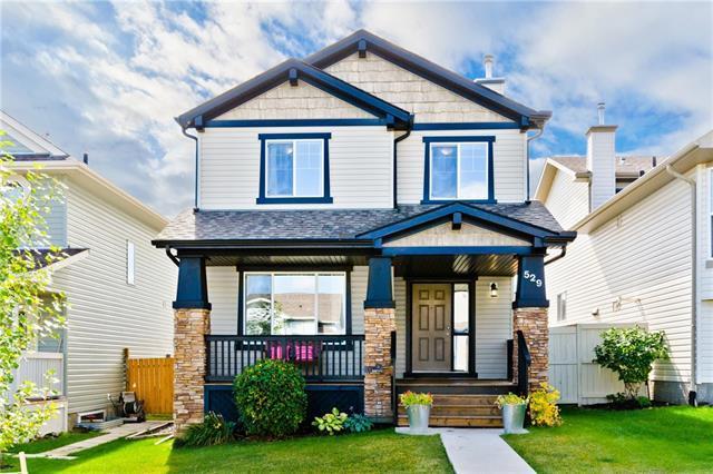 529 Morningside Park SW, Airdrie, AB T4B 3M6 (#C4205761) :: Redline Real Estate Group Inc