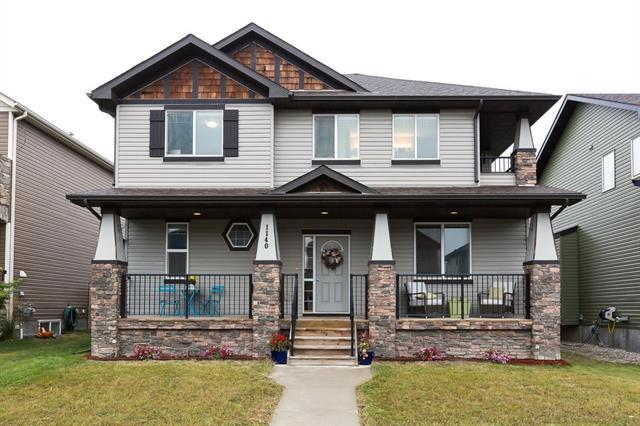 1140 Channelside Drive SW, Airdrie, AB T4B 3J4 (#C4206088) :: Canmore & Banff