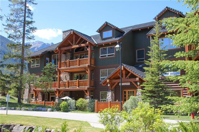 104 Armstrong Place #114, Canmore, AB T1W 3L5 (#C4206312) :: Canmore & Banff
