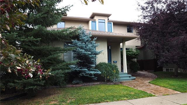 707 Alexander Crescent NW, Calgary, AB  (#C4206319) :: Canmore & Banff