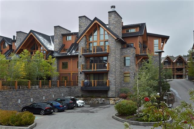 101G Stewart Creek Landing #7208, Canmore, AB T1W 0E3 (#C4206459) :: Canmore & Banff