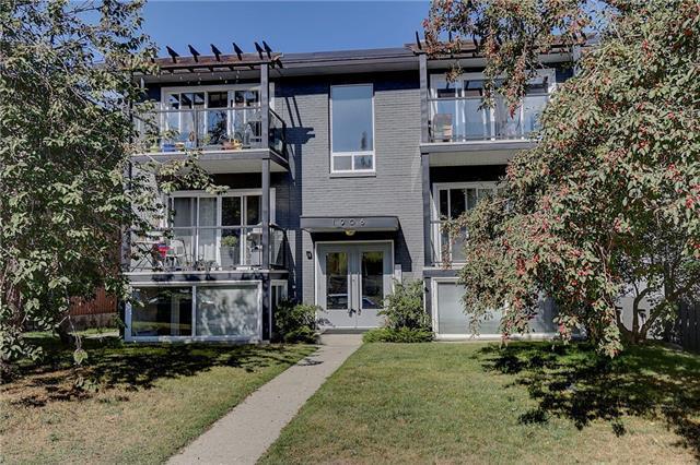 1908 28 Avenue SW #101, Calgary, AB T2T 1K1 (#C4206515) :: Redline Real Estate Group Inc