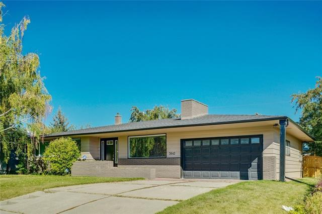 3642 13 Street SW, Calgary, AB T2T 3R1 (#C4206612) :: Canmore & Banff