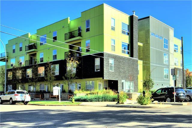 1740 9 Street NW #402, Calgary, AB T2M 4Z5 (#C4206649) :: The Cliff Stevenson Group