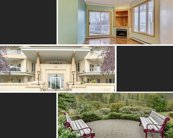 108 Edgeridge Terrace NW #206, Calgary, AB T3A 6C4 (#C4206711) :: The Cliff Stevenson Group