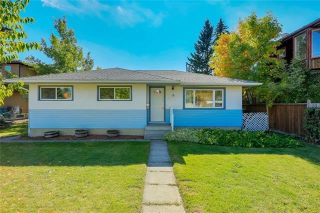 16 Cuthbert Place NW, Calgary, AB T2L 0S9 (#C4206712) :: Redline Real Estate Group Inc