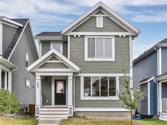 103 River Heights Boulevard, Cochrane, AB T4C 0R9 (#C4206794) :: Tonkinson Real Estate Team