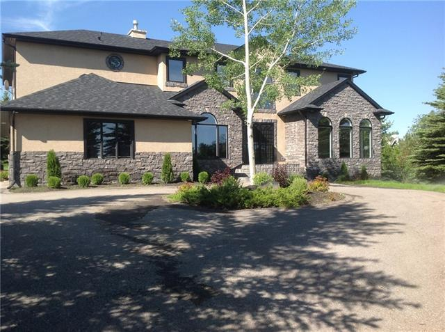 47 Wolfwillow Lane, Rural Rocky View County, AB T3Z 1B4 (#C4208011) :: Redline Real Estate Group Inc