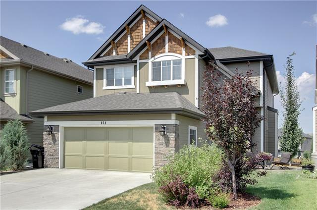 151 Auburn Sound Circle SE, Calgary, AB T3M 0R8 (#C4208122) :: Redline Real Estate Group Inc
